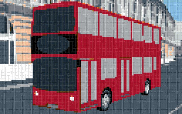 Doppeldecker-Bus London